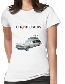 GHOSTBUSTERS CARS Womens Fitted T-Shirt