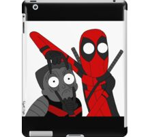 Deadpool and Colossus iPad Case/Skin