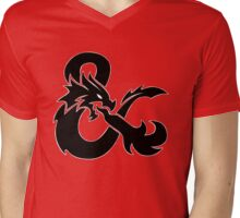 DND Mens V-Neck T-Shirt