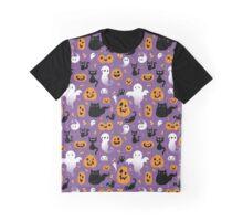 Spooky Halloween Graphic T-Shirt