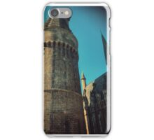 Castle High Top iPhone Case/Skin