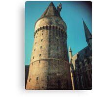 Castle High Top Canvas Print