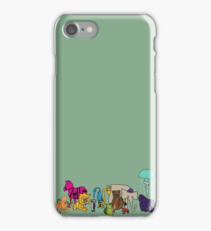 The Strange Menagerie iPhone Case/Skin