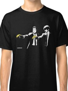Banksy - Pulp Fiction Banana Guns Classic T-Shirt