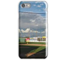 Early Pregame Baseball Warmup iPhone Case/Skin