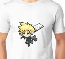 Chibi Cloud Strife Unisex T-Shirt