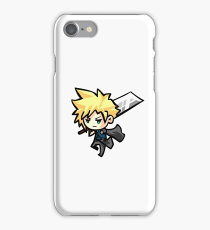 Chibi Cloud Strife iPhone Case/Skin