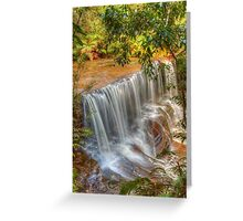 Somersby Falls with the new Canon 5D Greeting Card