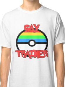 Pokemon - Gay Trainer Classic T-Shirt