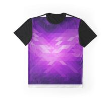 Abstract modern polygonal geometric background. Graphic T-Shirt