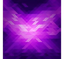 Abstract modern polygonal geometric background. Photographic Print