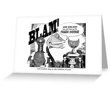 Another Fine Mess Greeting Card