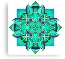 Pop Mandala Canvas Print