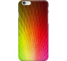 Peachy Peacock Pixelate [Rainbow] iPhone Case/Skin