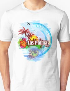 Las Palmas Beach Day Unisex T-Shirt