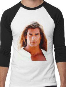 Yeah The Boys Fabio Men's Baseball ¾ T-Shirt