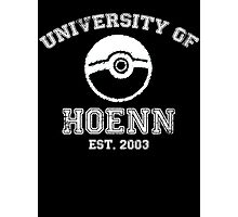 University of Hoenn Photographic Print