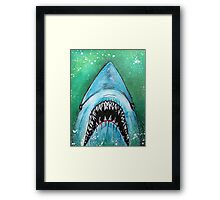 Spawn of Jaws Framed Print