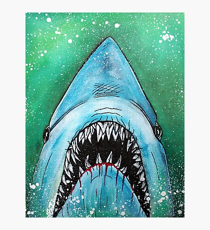 Spawn of Jaws Photographic Print