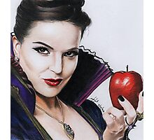The Evil Queen Photographic Print