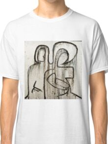 Joseph and Mary with child Classic T-Shirt