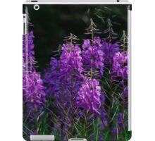 Purple Fireweed Jasper Canada iPad Case/Skin