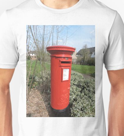 Huntingdon Postbox Unisex T-Shirt