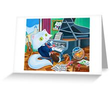 Ludwig van Caathoven Greeting Card