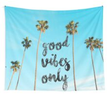 Good LA Vibes Only #redbubble Wall Tapestry