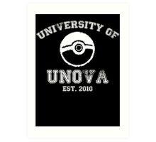 University of Unova Art Print