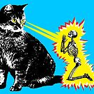 What your cat is really thinking, cat death ray by monsterplanet