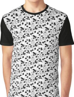 Edgy Snow-Owl Feather Pattern / Schneeeulenfeder Graphic T-Shirt