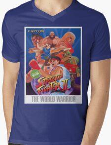 Street Fighter II Frank Ocean Shirt Mens V-Neck T-Shirt