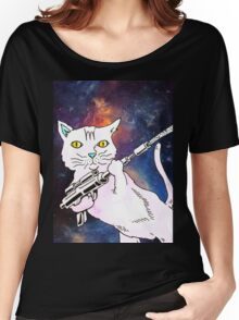 CAT TROOPER Women's Relaxed Fit T-Shirt