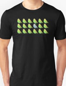 Lucky Parakeet Bird T-Shirt