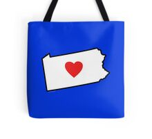 I Love Pennsylvania Tote Bag
