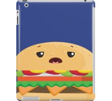 Tired Cheeseburger iPad Case/Skin