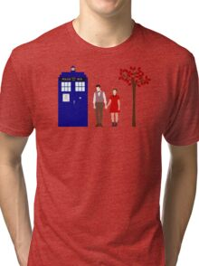 Clara and Eleven Tri-blend T-Shirt