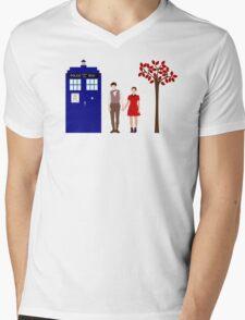 Clara and Eleven Mens V-Neck T-Shirt