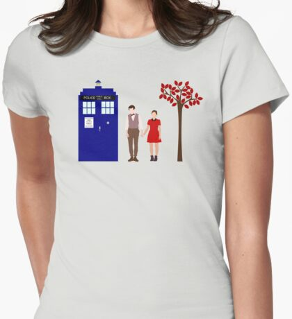 Clara and Eleven Womens Fitted T-Shirt
