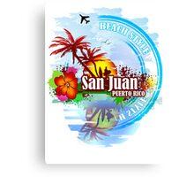 San Juan Puerto rico Canvas Print