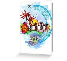 San Juan Puerto rico Greeting Card