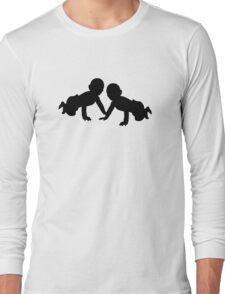 Babies twins Long Sleeve T-Shirt