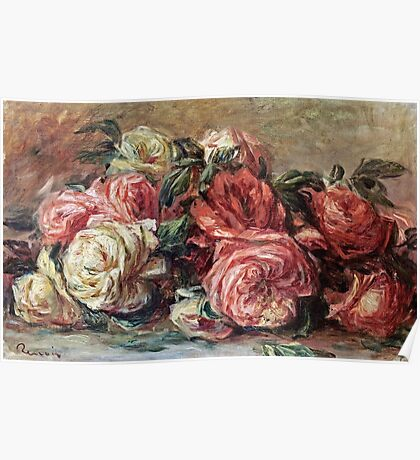 Renoir Auguste - Discarded Roses  Poster
