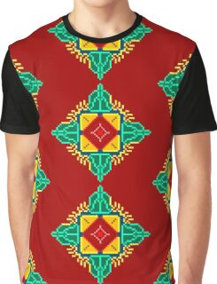 Baroque 5 Red Graphic T-Shirt