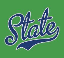 Blue State Script Kids Clothes