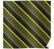 Cactus Garden Stripes 5D Poster