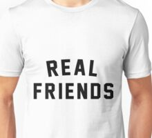real friends logo plain text Unisex T-Shirt