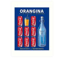 Sodas Coca Limonade Art Print