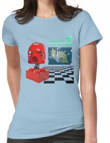 MACHINTOSH PLUS MATA NUI  Womens Fitted T-Shirt